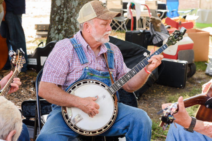 Banjo picking Dave Macon Days