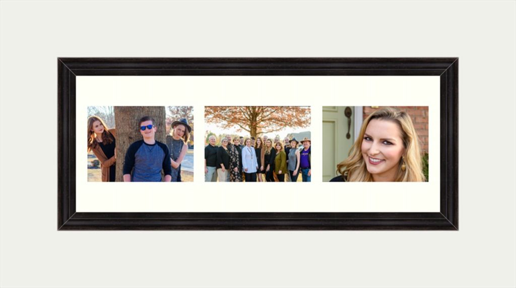 Family Photographer Smyrna, TN Wall art Holiday framed