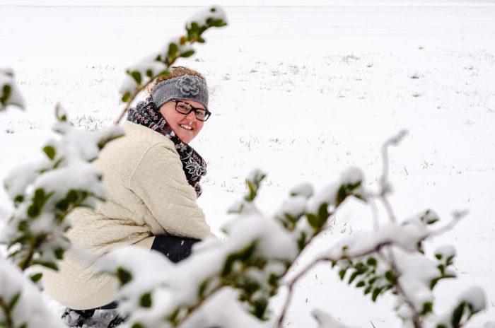 Snow Portrait Murfressboro Tennessee